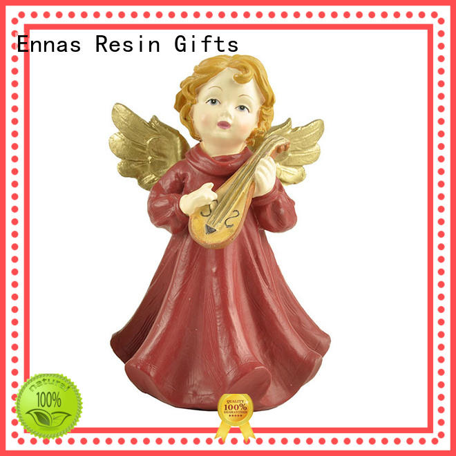 Ennas family decor angel figurines unique at discount