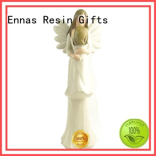 angel figurine gifts hand-crafted for ornaments Ennas