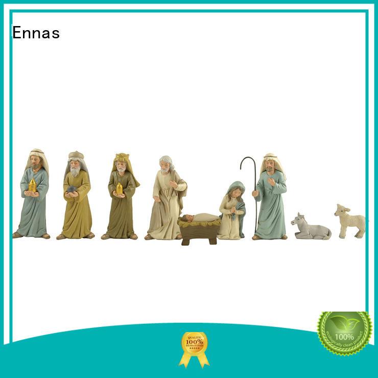 Ennas christmas nativity set figurines bulk production craft decoration