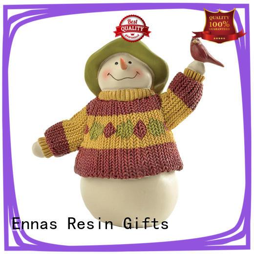 Ennas hand-crafted mini christmas figurines hot-sale bulk production