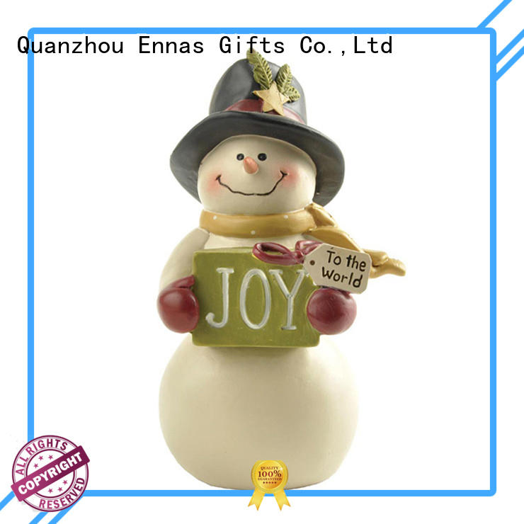 Ennas resin christmas figurines polyresin bulk production