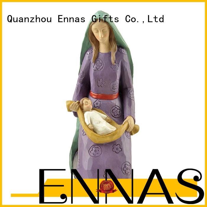 Ennas catholic religious sculptures bulk production family decor