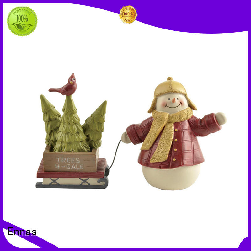 decorative small christmas figurines for wholesale