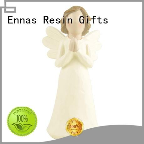 Ennas home decor child angel figurines decorative at discount