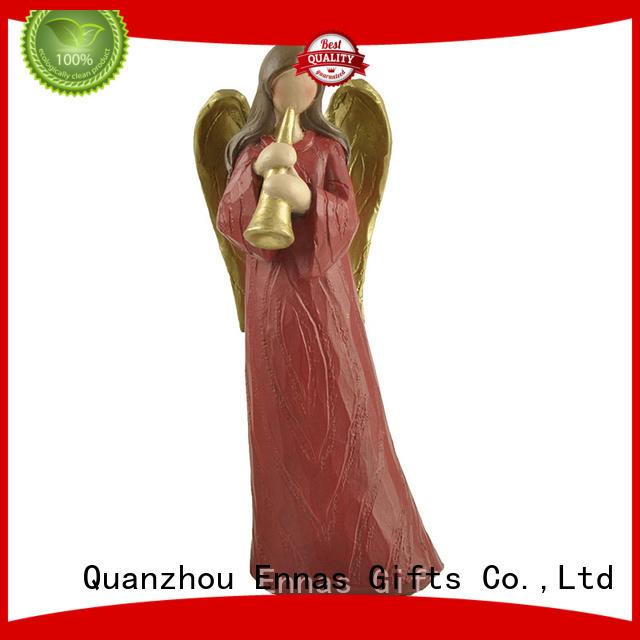 Ennas snowman small christmas figurines hot-sale bulk production