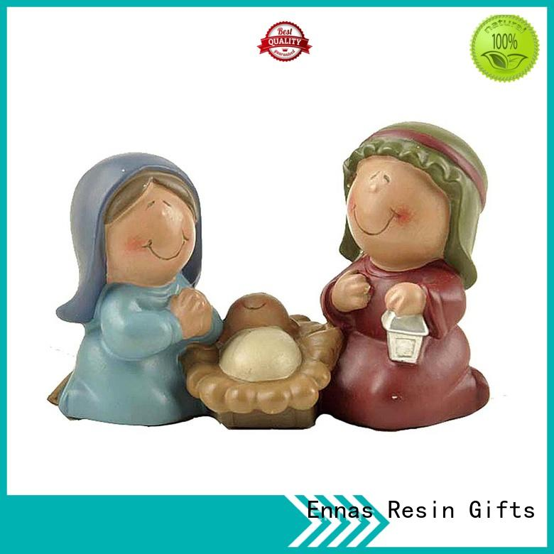 Ennas christmas nativity set figurines bulk production holy gift