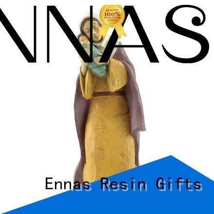 Ennas christian nativity set popular