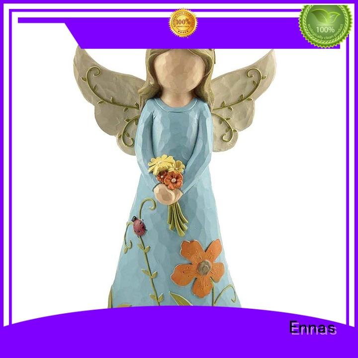 hand-crafted miniature angel figurines decorative best crafts Ennas