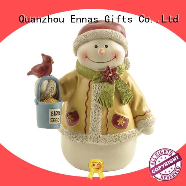 Ennas snowman christmas ornament angel hanging