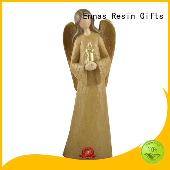 Ennas family decor guardian angel statues figurines lovely at discount