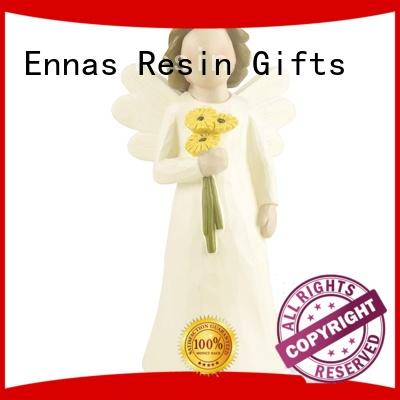 decorative resin angel figurines antique fashion Ennas