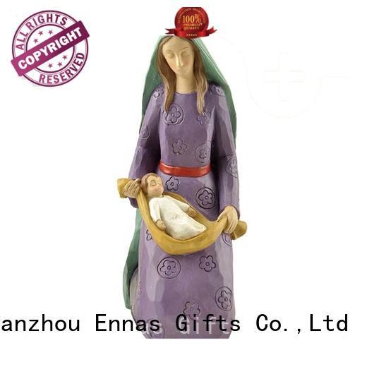 custom sculptures catholic figurines eco-friendly hot-sale family decor