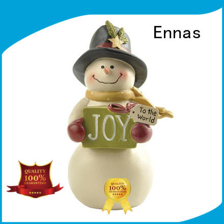 hanging christmas village figurines mini for ornaments Ennas