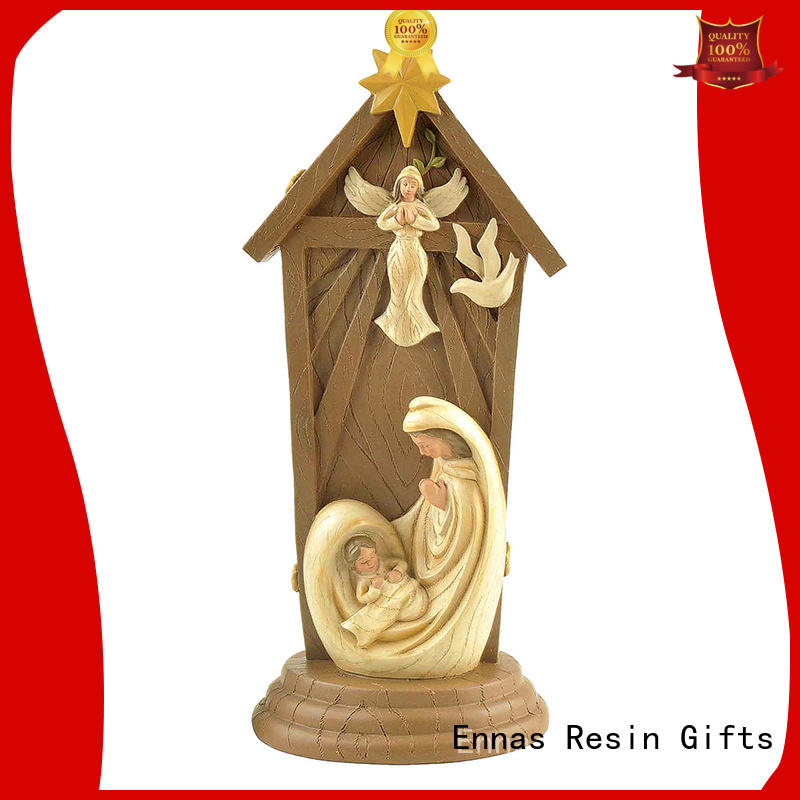 Ennas eco-friendly religious sculptures popular family decor
