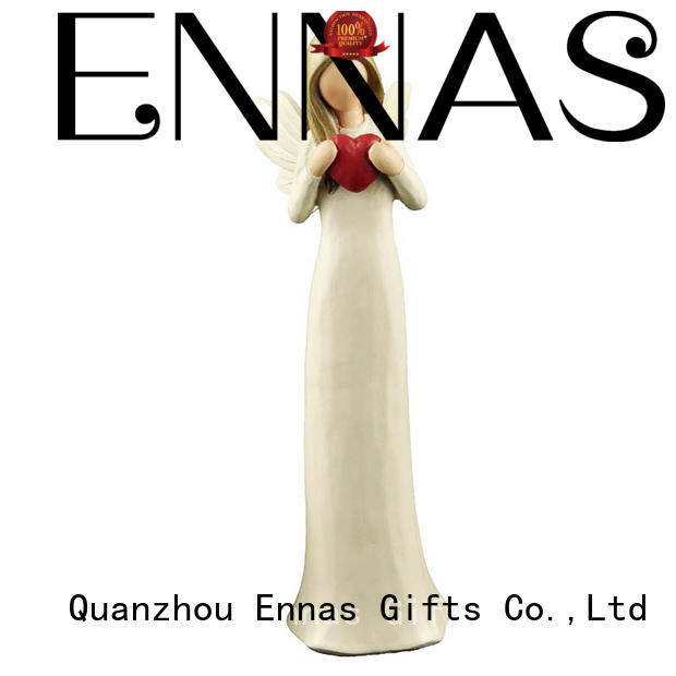 Ennas decorative personalized angel figurine top-selling for decoration