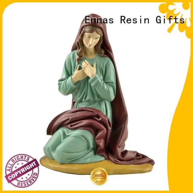 miniature religious figurines christian family decor Ennas