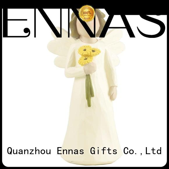 family decor personalized angel figurine top-selling for ornaments