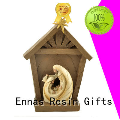 Ennas holding candle catholic statues catholic