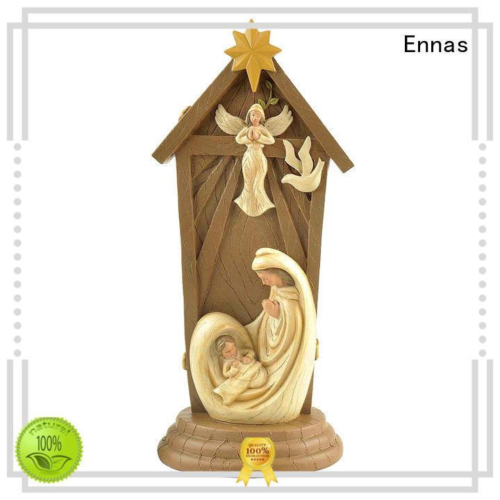 Ennas holding candle catholic religious items promotional