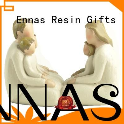 Ennas vintage personalized wedding toppers figurines hot-sale