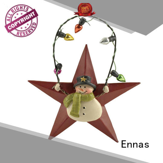 star-shape animated christmas figures popular for ornaments Ennas