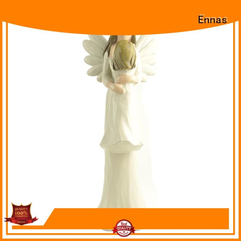 Ennas artificial angel figurine lovely for decoration