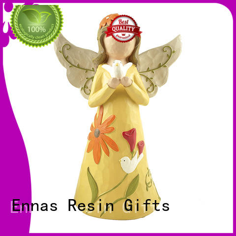 Ennas artificial miniature angel figurines hand-crafted fashion