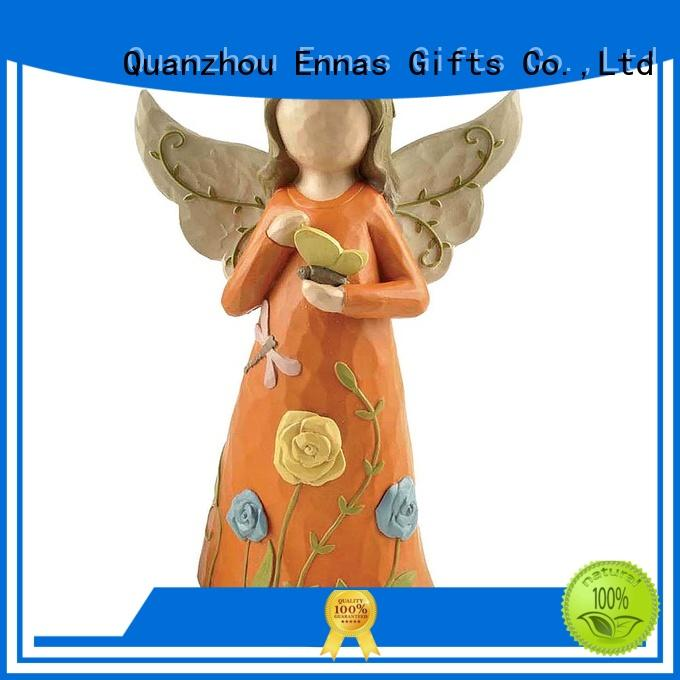 artificial little angel figurines vintage for ornaments