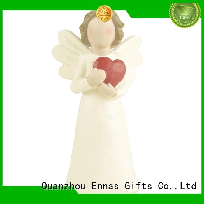 Christmas beautiful angel figurines decorative top-selling fashion