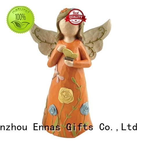 Ennas popular angel collectables colored for ornaments