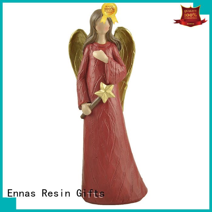 present small christmas figurines star-shape hot-sale for ornaments