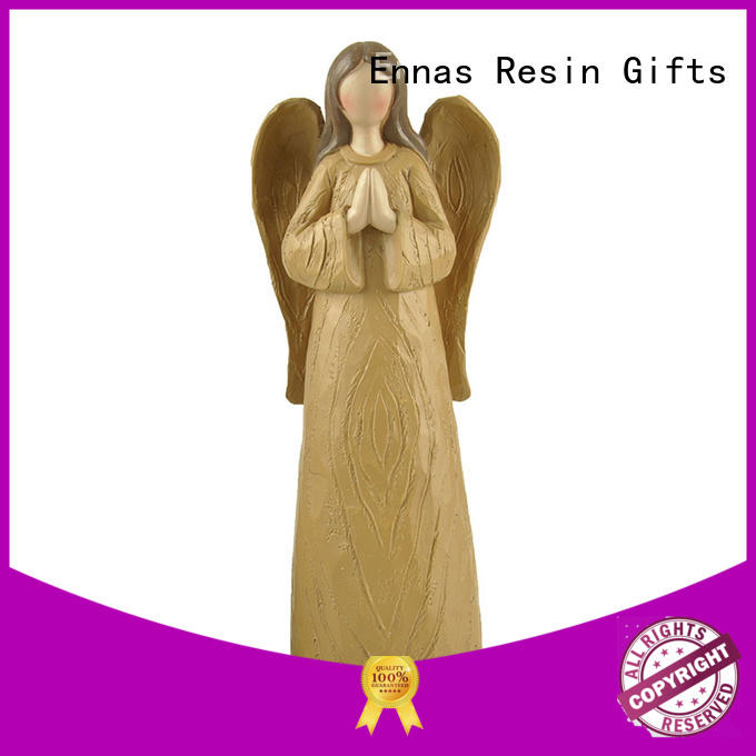 personalized angel figurine hand-crafted for decoration Ennas