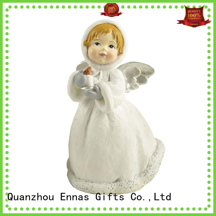 Ennas hand-crafted personalized angel figurine vintage for decoration