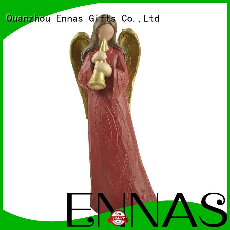 Ennas Christmas angel figurine collection handmade for decoration