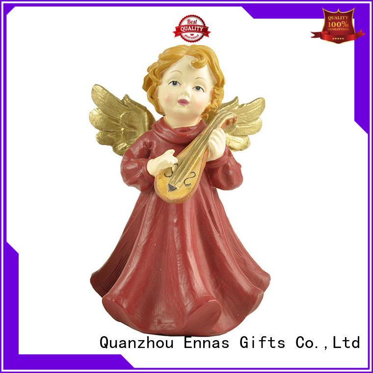 Ennas home decor personalized angel figurine colored fashion