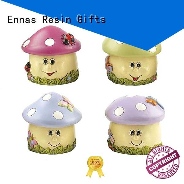 Wholesale European style resin trinket box souvenir polyresin mushroom shape jewelry box