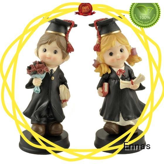 Ennas custom graduation figurines festivity from best factory