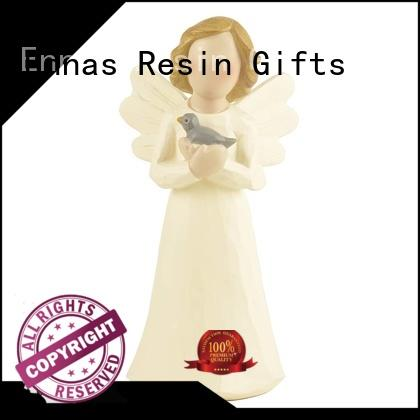 artificial memorial angel figurines hand-crafted creationary for ornaments