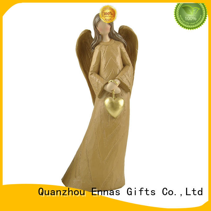 Ennas high-quality angel statues indoor colored at discount