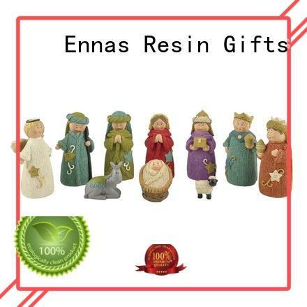 Ennas christmas nativity set figurines promotional