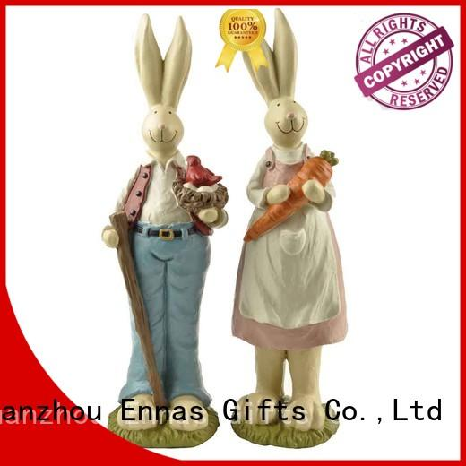 best quality easter figurines polyresin micro landscape