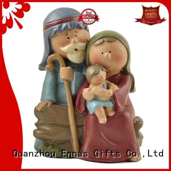 Ennas wholesale christian figurines bulk production craft decoration