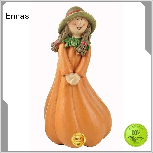 Ennas cartoon style fall figurines sunflower at discount