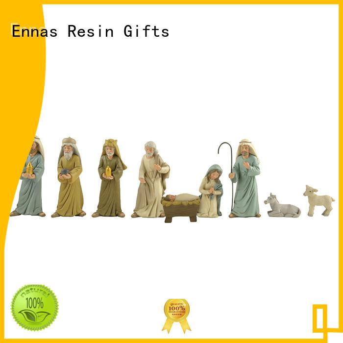 Ennas christian religious figures promotional family decor