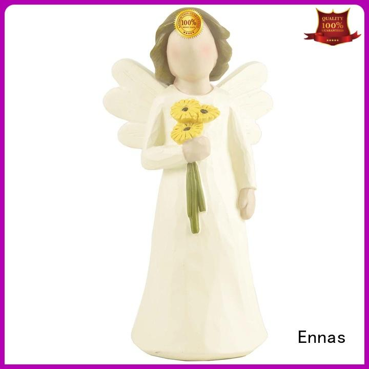 Ennas high-quality angel figurine handmade for ornaments