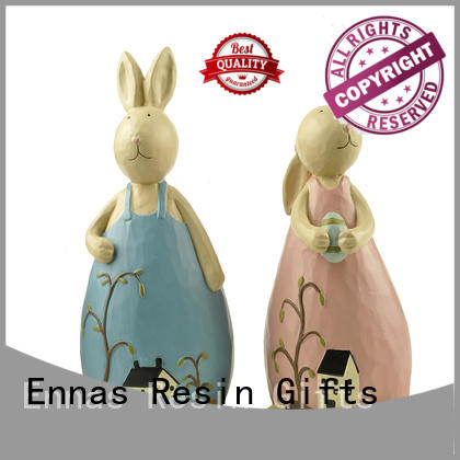 realistic woodland animal figurines decorative high-quality resin craft