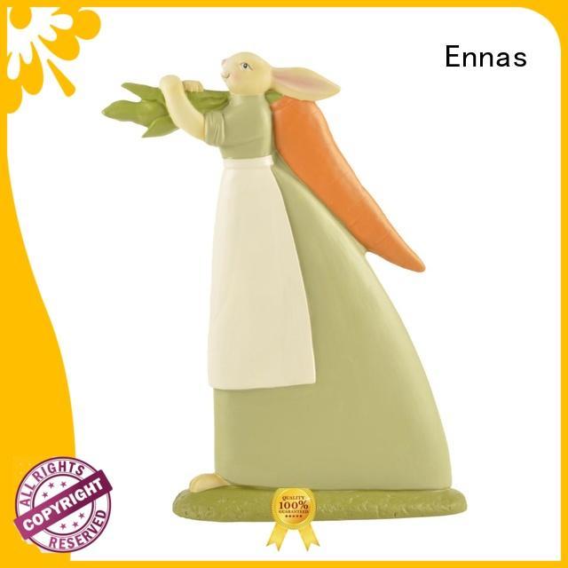 Ennas handmade dog figurines toys hot-sale from polyresin