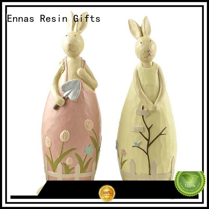 Ennas decorative easter figurines oem micro landscape