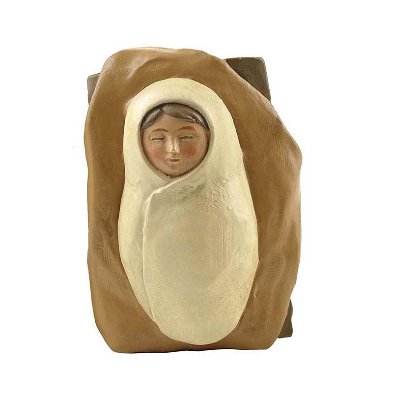Ennas custom sculptures nativity set with stable promotional
