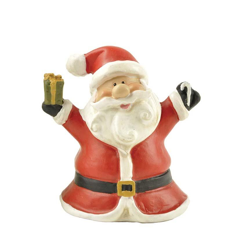 Wholesales Resin Mini Christmas Table Ornaments Santa Claus Figurines